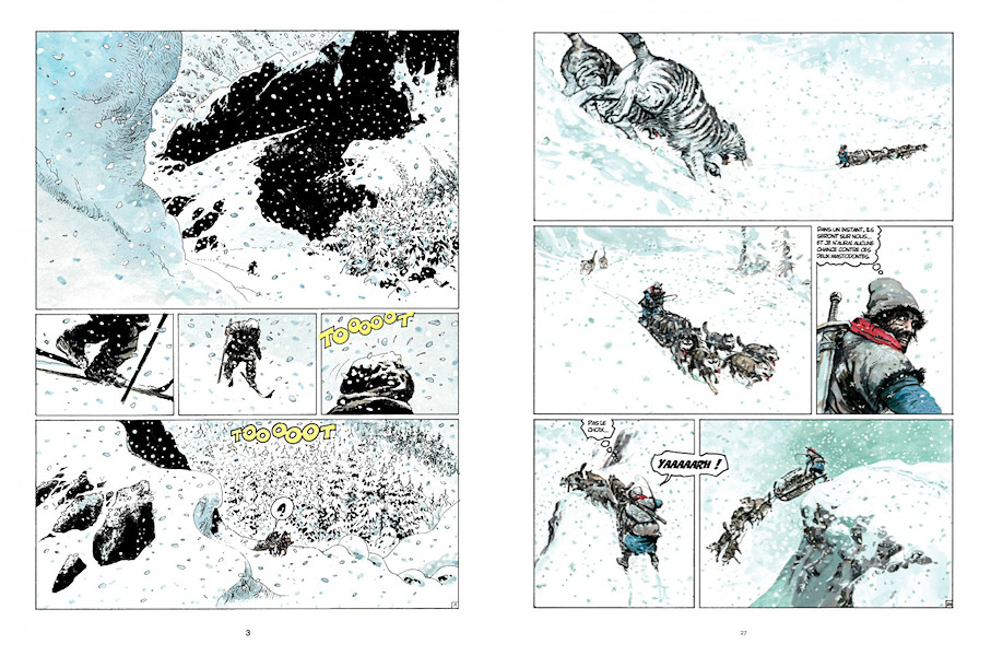 Planches neigeuses