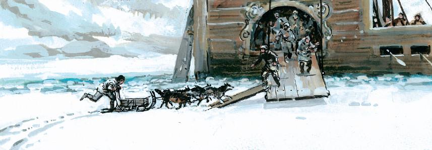Le bateau-sabre