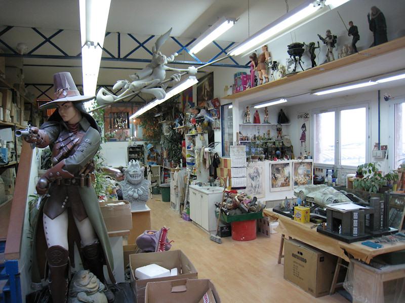 Visite de l'atelier Attakus