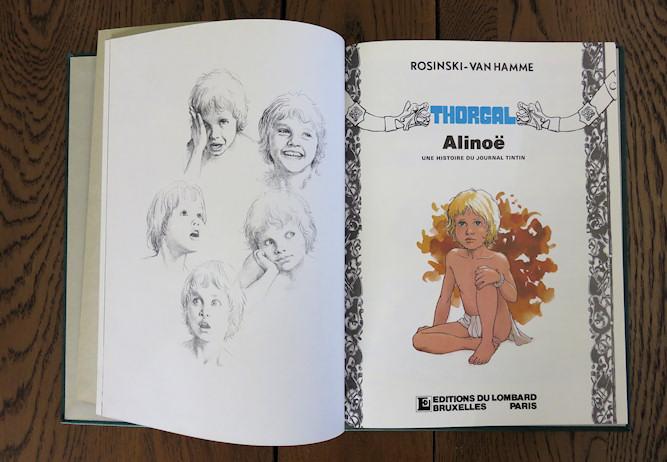 Alinoë - Album luxe 1985