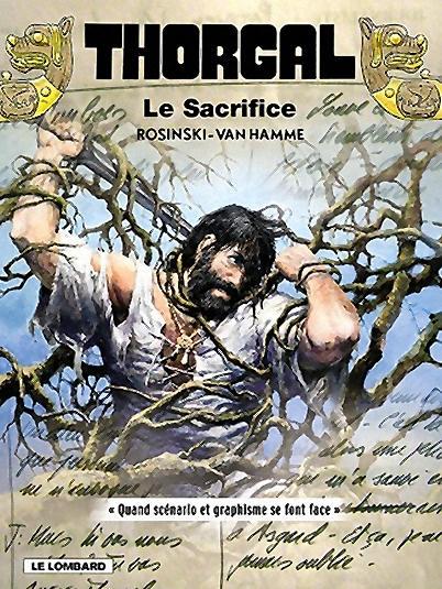 Couverture édition spéciale - Le sacrifice