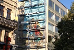 fresque Bruxelles