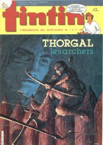 Tintin - Juillet 1984