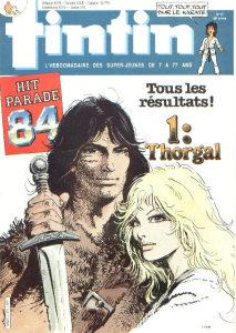 Tintin - Septembre 1984