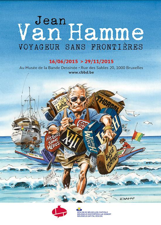 Expo Jean Van Hamme CBBD