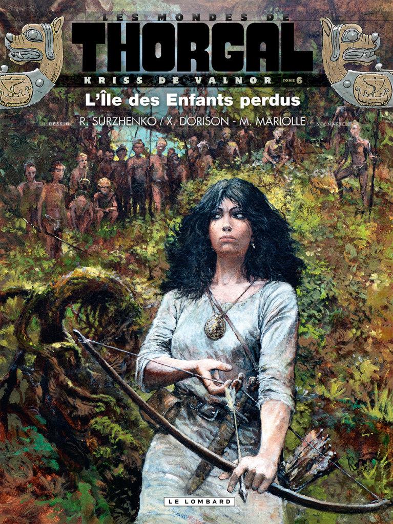 Couverture de l'album des mondes de Thorgal kriss de Valnor 6 l'ile des enfants perdus