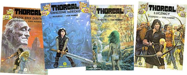 Thorgal en polonais