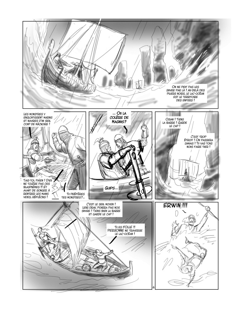 Crayonné de Kriss de Valnor T. 6