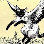 Chats ailés de Frigg
