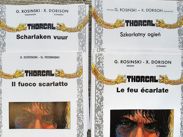 Piotr Rosinski - Impression de Thorgal 35