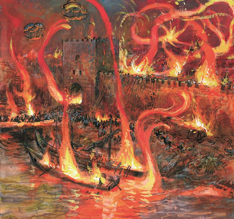 Le feu écarlate - Bag Dhad