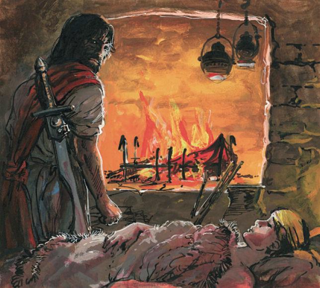 Le feu écarlate - Thorgal et Aniel